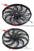 Universal 10'' Lightweight Electric Radiator Cooling Fan